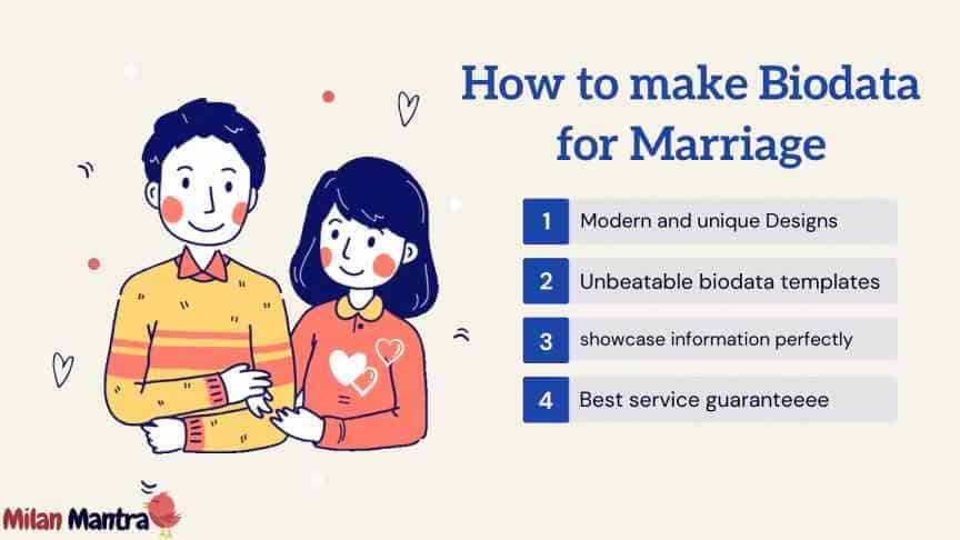 How to make Biodata for Marriage Effective in 5 minutes