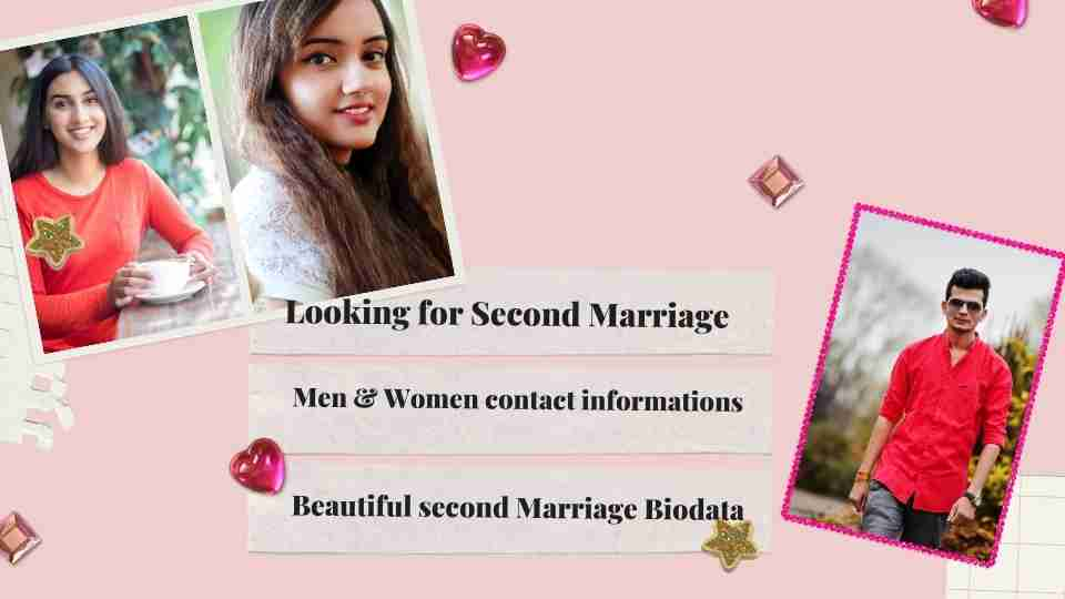 Second Marriage Girl Mobile Number