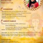 biodata format for marriage for girl