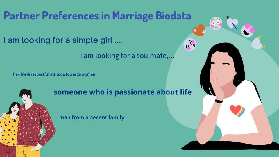 Expectations For Marriage Biodata